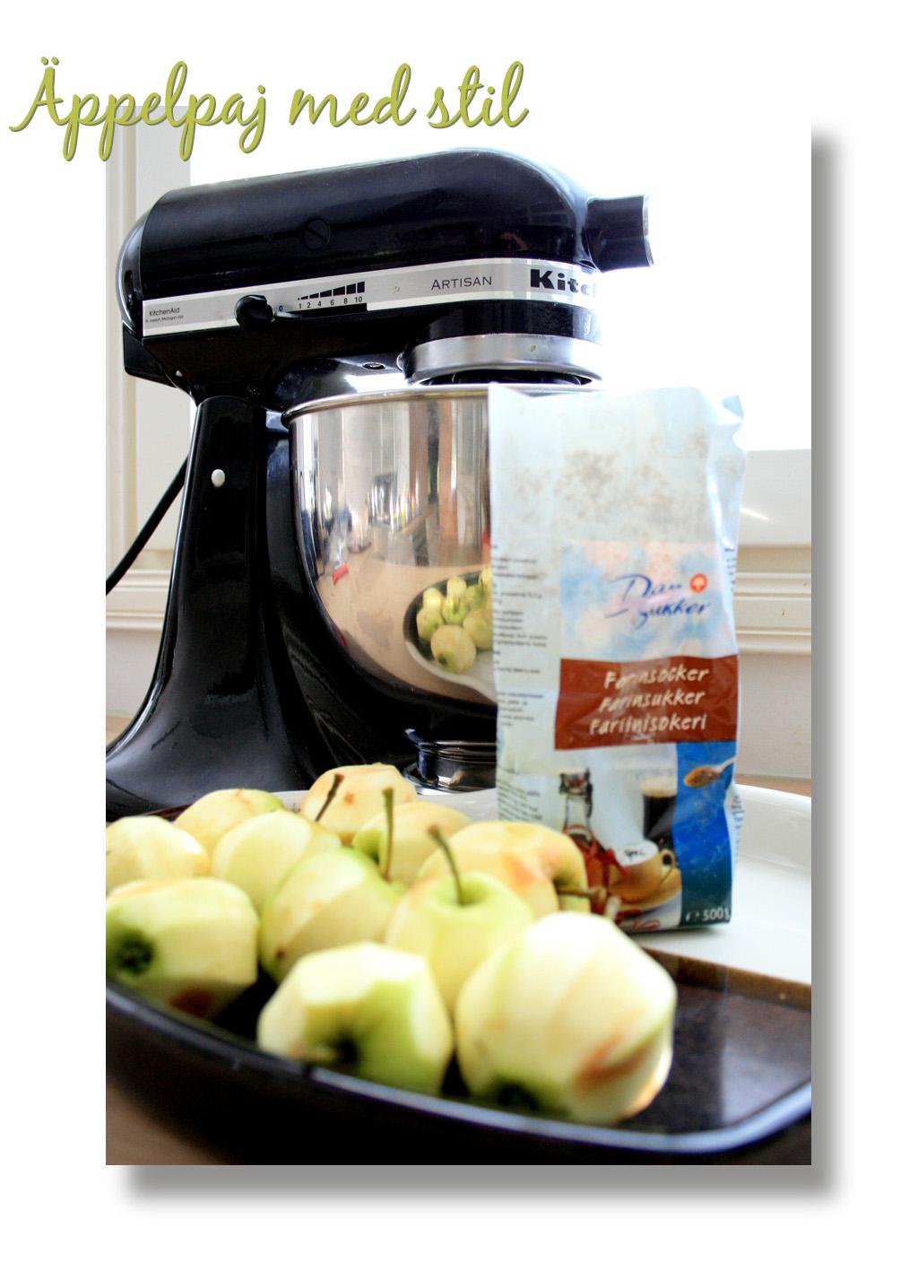 Kitchen Aid Äppelpaj