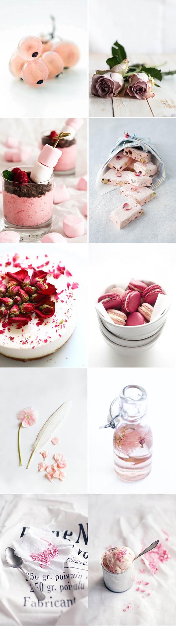 Rosa collage