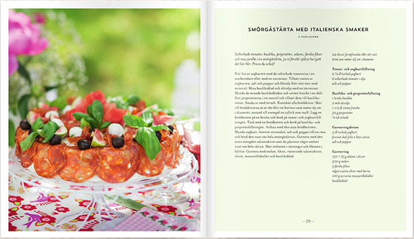 Italiensk smårgåstårta